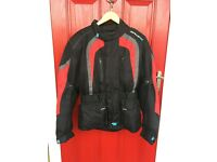 MOTORCYCLE SPADA TEXTILE JACKET SIZE SMALL EXCELLENT CONDITION