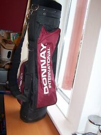 Donnay single strap carry stand bag