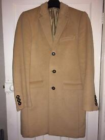 Men's Camel Coat By Taylor & Reece