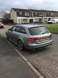Audi A4 avant 2l tdi s-line s4 rep for sale or swap