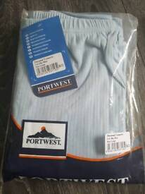 Large Portwest Thermal Trousers New