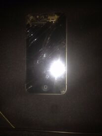 iphone 4s cracked screen for sale