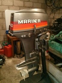 Mariner 40 HP 2 Stroke Outboard