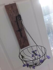 Wall Mounting Plaque for Hanging Basket