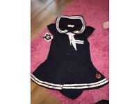 Girls Sailor Outfit Age 2