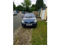 2003 Renault Clio 1.2 Petrol 1 Month Mot HPI Clear 111792 Miles Spare or Repairs