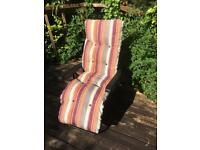 New reclining garden chairs x2