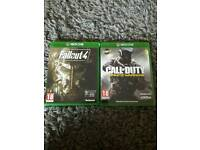 Fallout 4 and COD infinite warfare
