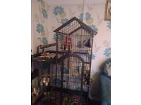 Parrot cage. Will be cleaned before collection.