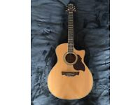 Crafter Acoustic Guitar - Perfect Condition (stand, bag etc)