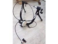 Minoura B60 Turbo Trainer - Road Bike Indoor Trainer with Remote