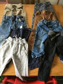 Large bundle of boys clothes 2-3