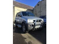DAIHATSU TERIOS TRACKER!!!! 1.3 PETROL!!! 4X4!!!! LONG MOT!!! Warranty!!!