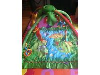 Fisher price rainforest baby playgym / play gym