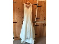 "Sophia Tolli ""Mirri"" Wedding Dress. UK 10."