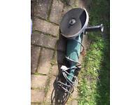 9 inch Parkside angle grinder 230v