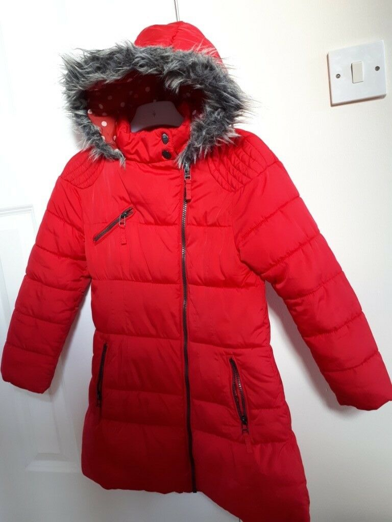 eff8e5bac NEXT girls winter coat age 7-8