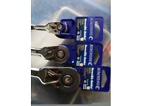 3 ratchets 3 sizes kinchrome stunning looking set brand new