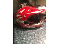 Kids gp pro motorcross helmet