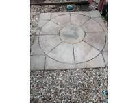 Garden slab
