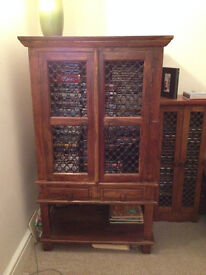 Solid wood cabinet - large