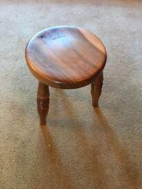 Wooden 3 Leg Stool