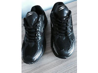 Brand new men's black trainers, uk size 7, quick sale at only £20