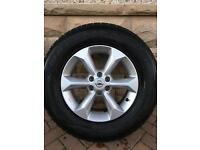 "Nissan Navara D40 17"" alloy wheels"