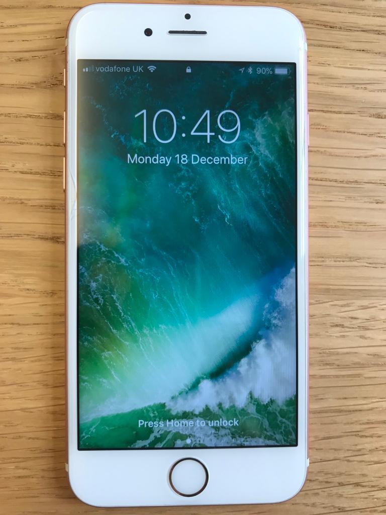 iPhone 6s 64gb - Rose Gold - Unlocked