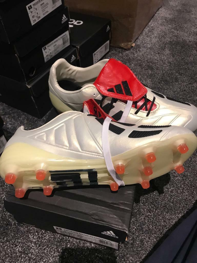 Adidas predator mania football boots size 9.5 uk 9  74f561fda8a7