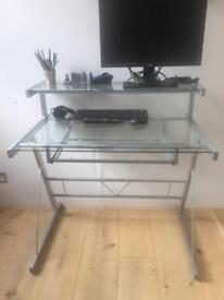 Glass desk for sale - pick up SW2