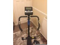Roger Black Gold Exercise Bike- used twice!