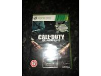 Black ops 1, Xbox 360 but compatable with Xbox 1