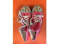 Pink Donnay trainers size 6