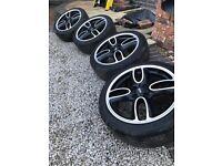 Mini Alloy Wheels 17inch x 4