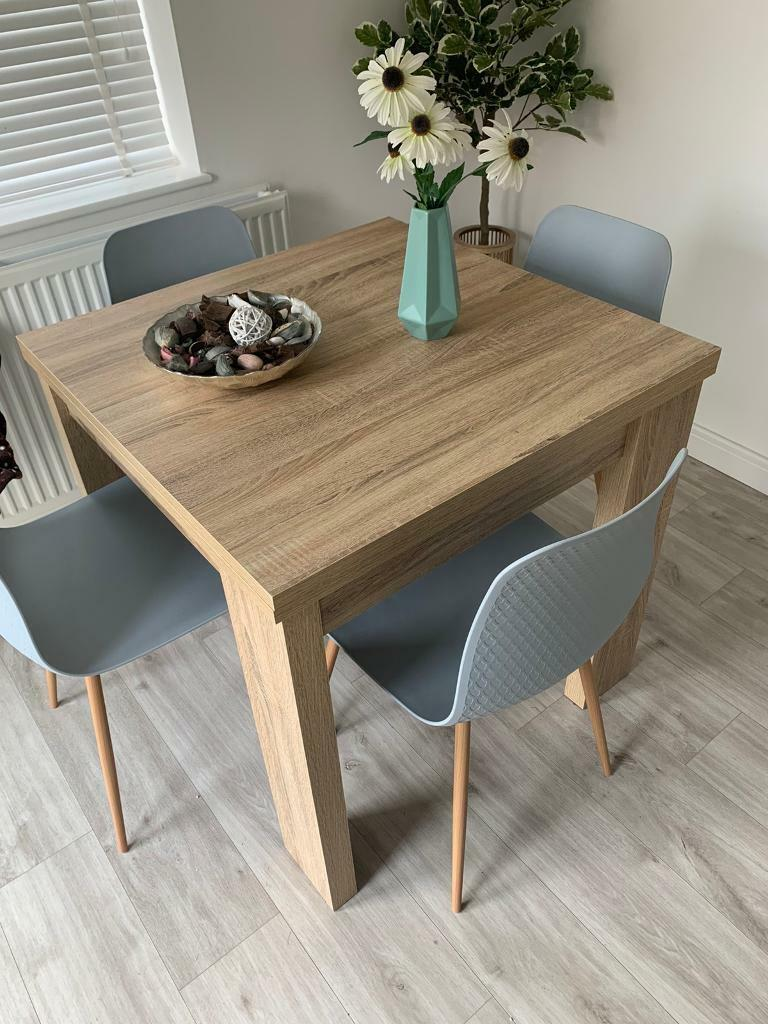 SOLD Next Malvern Dining Table 4-6 seater extendable with ...