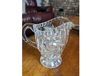 A set of Lead Crystal Glasses, Ice Buckets, Water Jugs etc