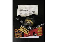 Guns N Roses - Gold Circle Tickets -Slane Castle May 27th 2017
