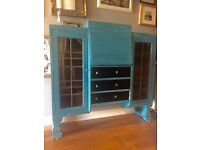 Retro painted Bureau