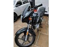 125cc road bike 63plate £400