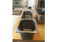 Stainless Steel Catering tins