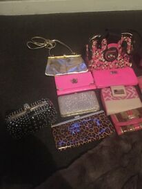 "Mixed women's stuff bags purse""s coat make up"