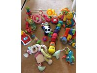 Baby toy bundle - ELC, Fisher Price, Lamaze, Mamas and Papas