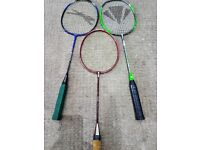 Badminton - Premium Brands Excellent condition