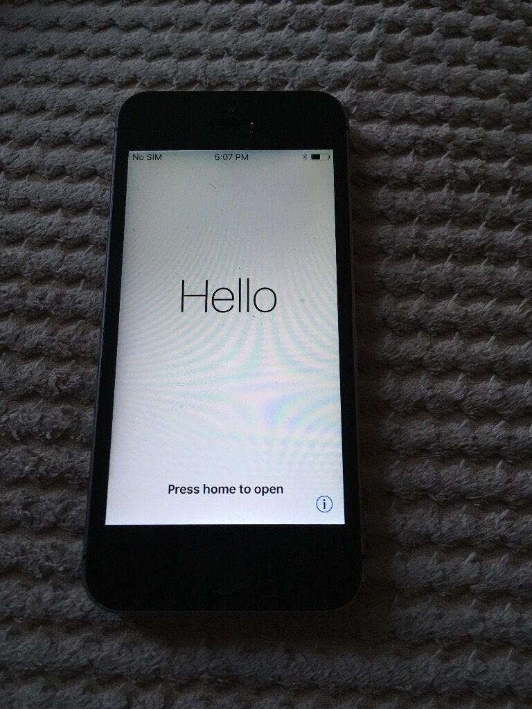 Apple iPhone 16GB 5S used condition will work with repair to Home button only50 o.n.oin Lisburn, County AntrimGumtree - Apple iPhone 5s 16GB O2 Network Space Grey Used condition some scraps etc but can be hidden with decent cover Screen has been repaired twice & after second repair the Home button stopped working. Was using it fine with the Home assist button but done...
