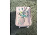 Tinker bell suicase
