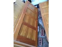 Solid 4x4 panels solid doors