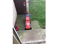Cordless Sovereign lawnmower