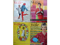 Bulk lot of Housewife magazines - 1960s