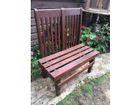 Garden bench £15